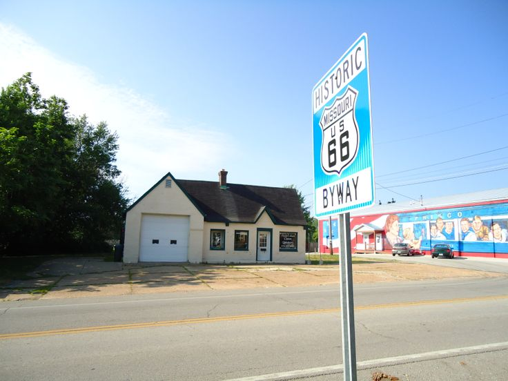 Pin by cuba missouri on route 66 cuba missouri pinterest for Cleveland gas station mural