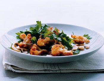 Parmesan Cauliflower and Parsley Salad   Recipe
