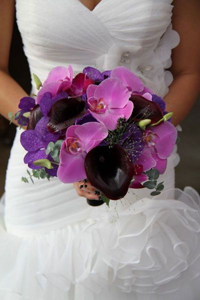 Wedding Trends 2014 - Radiant Orchid Wedding | Wedding Planning, Ideas & Etiquette | Bridal Guide Magazine