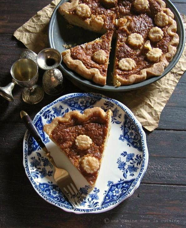 Brown Sugar Buttermilk Pie   une gamine dans la cuisine