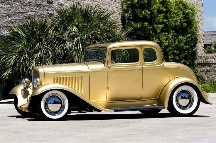 32 gold ford 5 window coupe hotrod pinups pinterest for 32 ford 5 window coupe