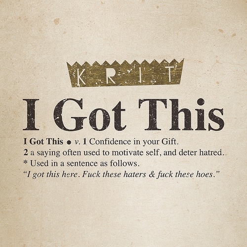 Words of Wisdom from Big KRIT.