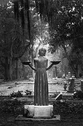 Pin by jane on the plains on so many books so little time pinterest for Garden of good and evil statue