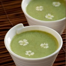 Not your average cream of broccoli soup; this one is flavored with ...