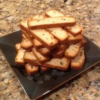 Lemon pistachio biscotti. | Deb's Food Gallery | Pinterest