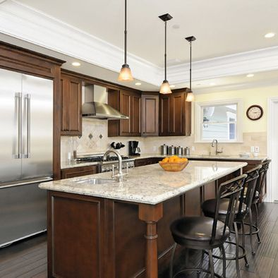 Unique Wood Kitchen Cabinets Also Image Of Decorating Kitchen Soffits ...