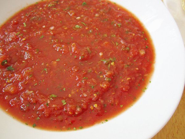 Mission: Food: Mexican Fiesta: Restaurant-Style Salsa, Gronk-amole ...