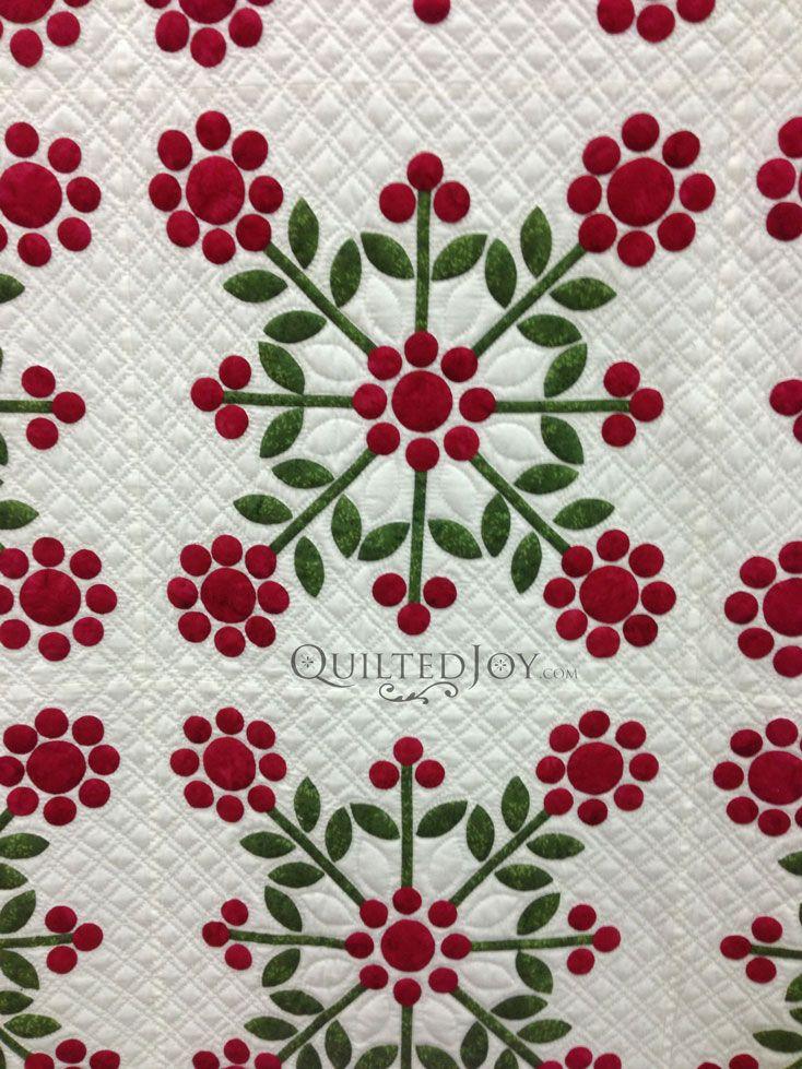 Applique quilt longarm Quilting - Patterns Pinterest