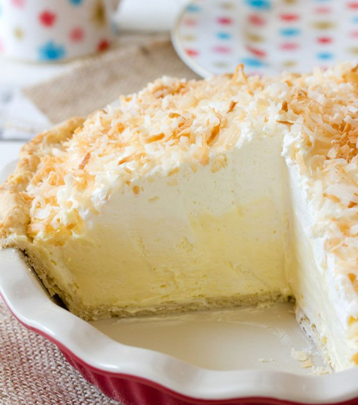 Coconut Cream Pie. | Food to try | Pinterest