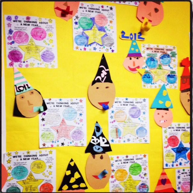New Years Resolutions in Rm 8! | Elementary Ideas