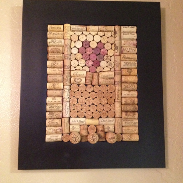 wine cork project home pinterest