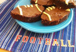 Touchdown Brownies. http://delightfullysassi.blogspot.com/