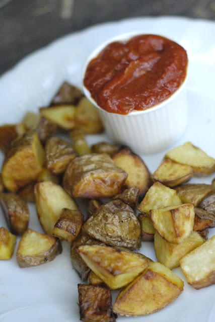 patatas bravas - or, roasted potatoes with quick and easy homemade ...