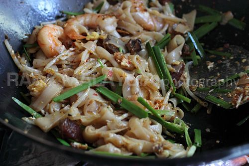 fried noodles char kuey teow penang fried flat noodles recipes