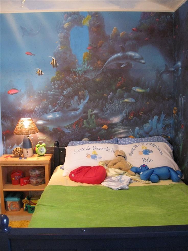 Aquarium Themed Bedroom 2 The Children 39 S Wing Pinterest