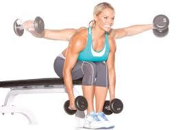 Seated Bent Over Rear Delt Raise | Workout Moves | Pinterest