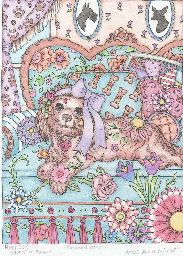 Creative Haven Dazzling Dogs Coloring Book By MarjorieNEW MARJORIEpageinsidercomGoogleThe Food
