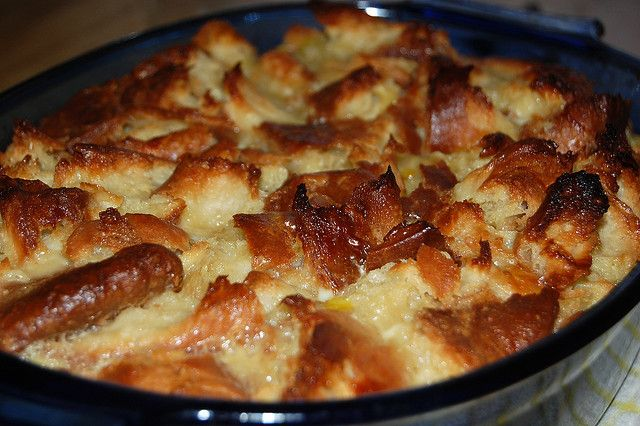Croissant Bread Pudding | Caramel Croissant Bread Pudding | Flickr ...