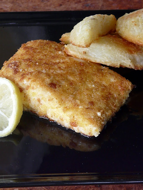 Parmesan Crusted Halibut. What I'm making for dinner tonight.
