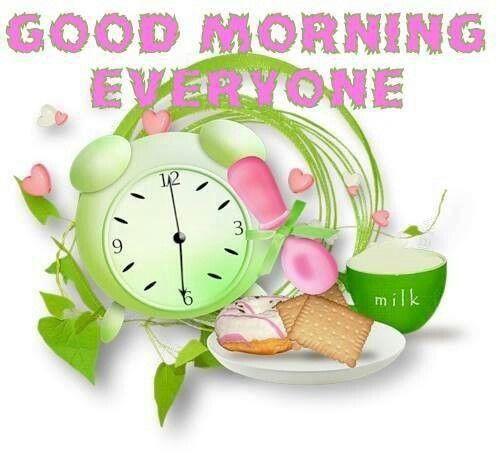 Good Morning Everyone Band : Good morning everyone buen dia bendiciones e