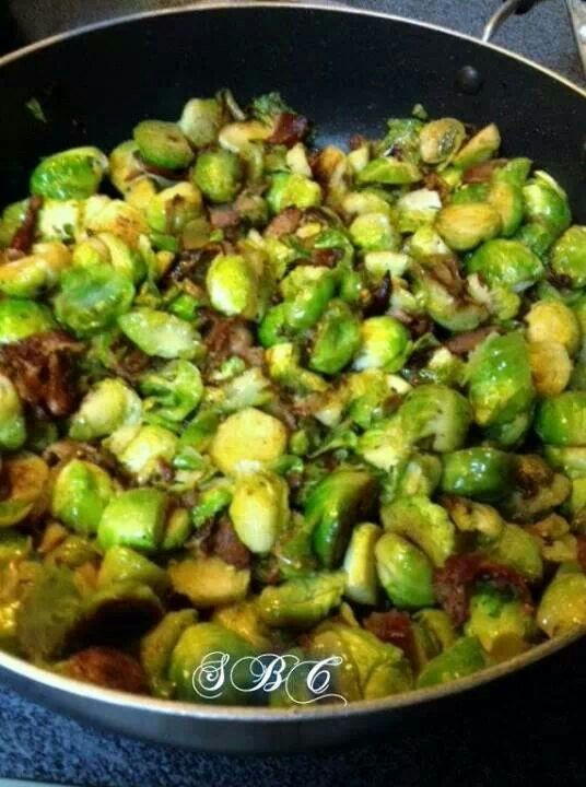 Sautéed Brussel Sprouts | Side Dish | Pinterest