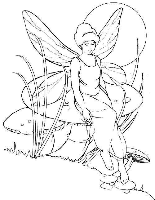 jewel fairies coloring pages - photo#15