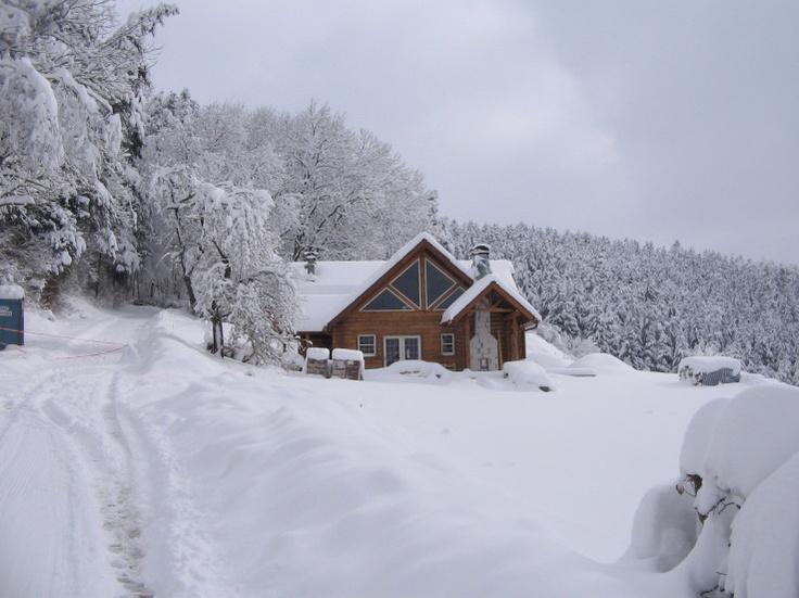 Log Cabin In The Snow Motivation Pinterest