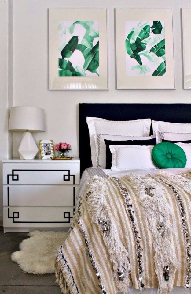 Black and green bedroom home pinterest Green and black bedroom