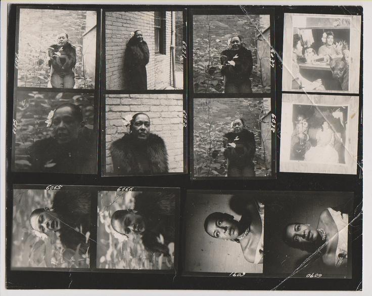 Billie Holiday by Burt Goldblatt