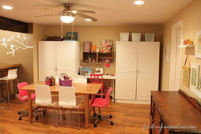 decorating ideas basement family room