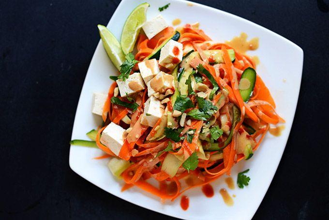 Noodle Free Pad Thai | Minimalist Baker. I didn't have zucchini, so I ...