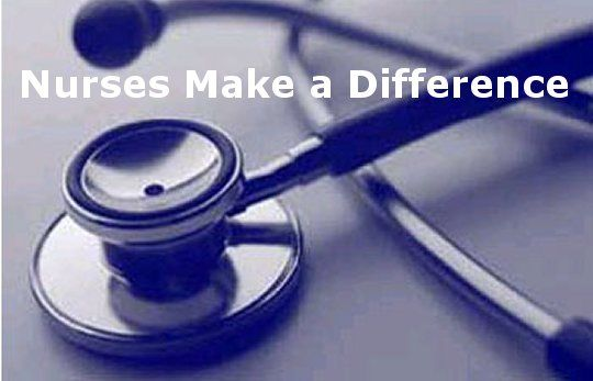Nurses make a difference.