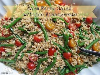 Warm Farro Salad with Dijon Vinaigrette - A-MAZING!! @epicuricloud ...