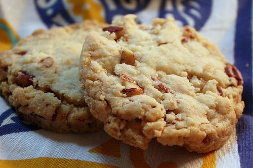 Pecan shortbread cookies. Yum. My dad would Love these!