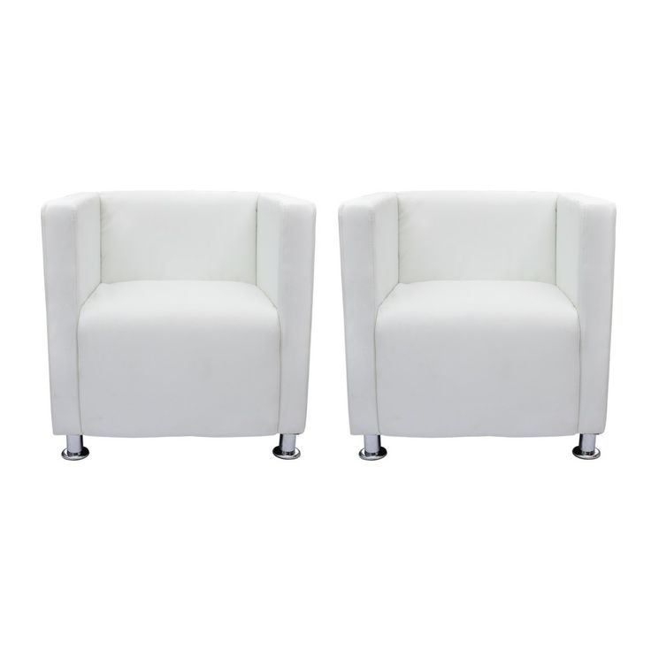 Lounge stoel Carenno wit vidaXL €81,99 ps - Products - YourCompany ...