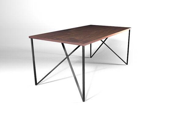 Inside Out Table Leg Metal Table Leg Diy Furniture Modern Vin