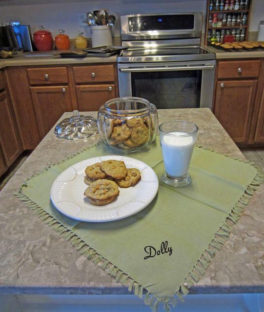 Butterscotch, Caramel, Oatmeal, Walnut Cookies