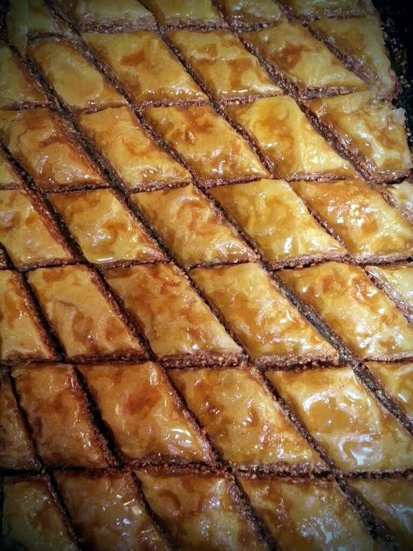 "... grace"" @allthecooks #recipe #dessert #baklava #christmas #easy #sweet"
