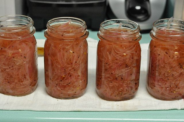 Sweet & sour pickled red onions | Canning, farming, gardening | Pinte ...