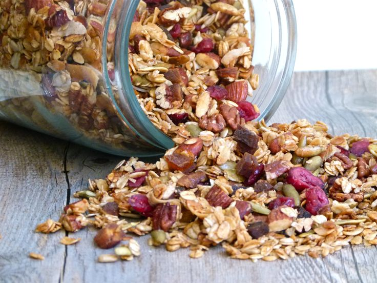 homemade granola | Gifts from the Kitchen | Pinterest
