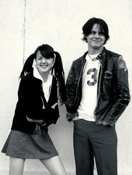 Meg & Jack White | Candy Canes and Ruby Rings | Pinterest