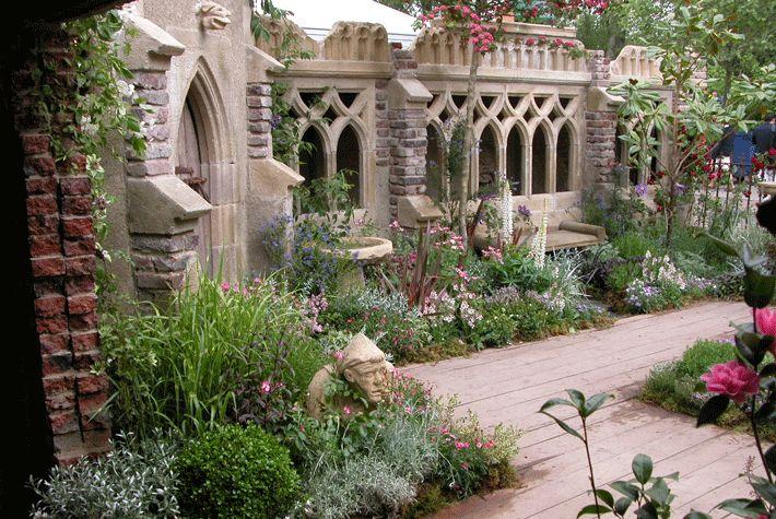 The cloister gothic folly gardens outdoor spaces for Garden folly designs