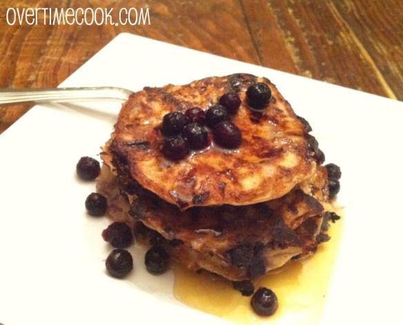 healthy-blueberry-cottage-cheese-pancakes