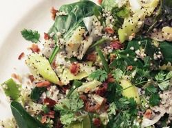 Speckled Salad with Quinoa, Leek, Bacon, & Chervil from 'Home Made Wi...