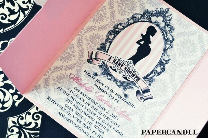 paris themed baby shower invitations the flower and the bee pinte
