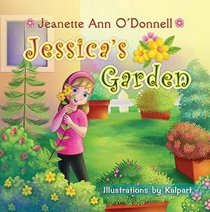 Jessica's Garden - Storybook Illustration