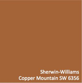 sherwin williams copper mountain (sw 6356) | hgtv home™ by