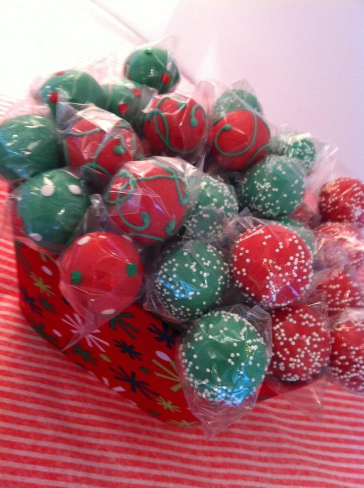 Images Of Christmas Cake Balls : Christmas Cake Balls www.imgkid.com - The Image Kid Has It!