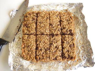 ... Banana Nut Chocolate Chip Granola Bars (egg free, dairy free, with low