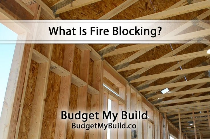 what is fire blocking fire blocking pinterest
